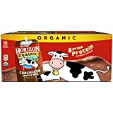 Horizon Organic, Lowfat Organic Milk Box, Chocolate, 8 Ounce (Pack of 18), Single Serve, Shelf Stable Organic Chocolate Flavored Lowfat Milk, Great for School Lunch Boxes, Snacks