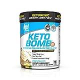 BPI Sports Keto Bomb Ketogenic Creamer for Coffee and Tea, French Vanilla Latte, 18 Servings (Tamaño: 18 Servings)