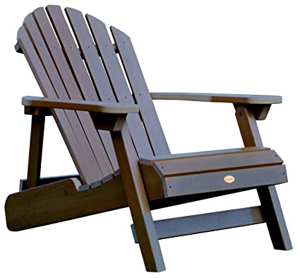Synthetic Wood Folding Adirondack Chair