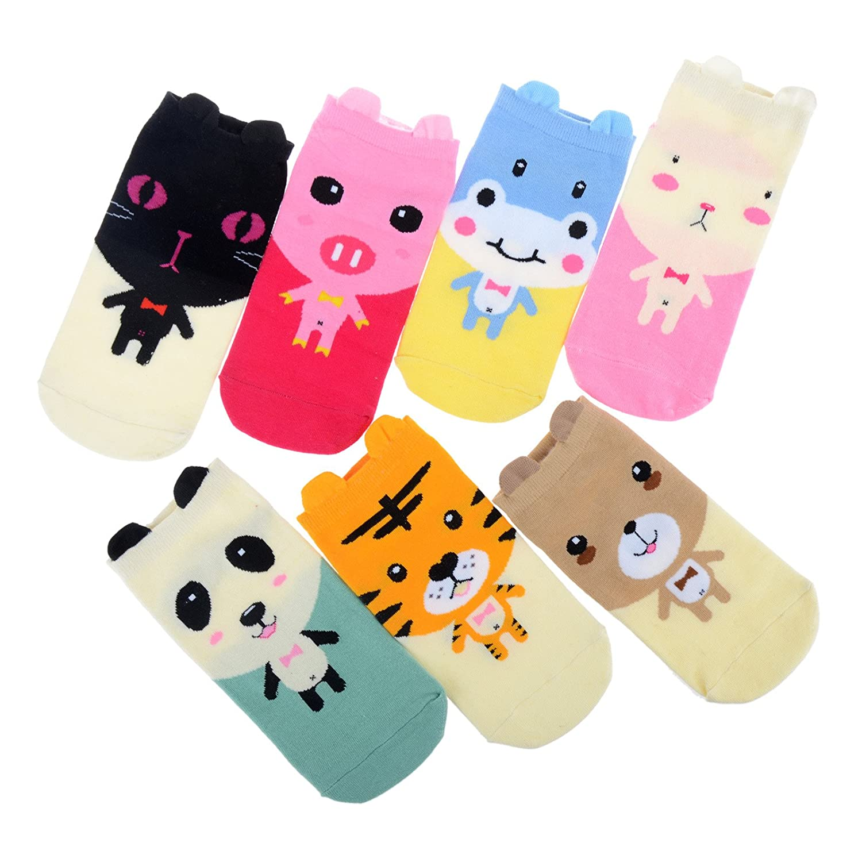 Фото - Imixlot Womens Girls Cute Cartoon Animal Ankle Socks массажер imixlot 2 shape up ca12002 mu