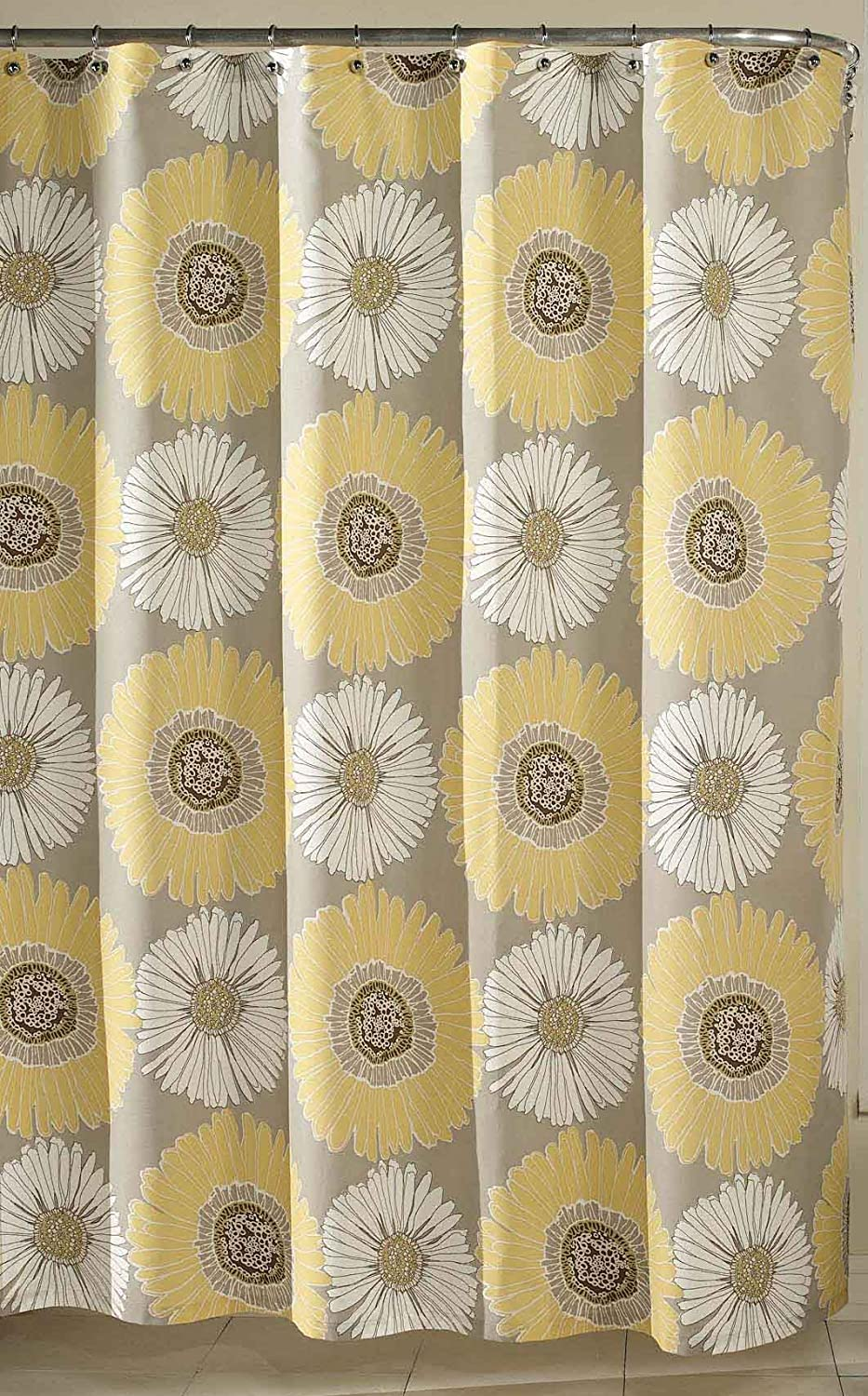 Sheer Shower Curtains Yellow Decoration News