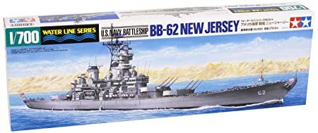 Tamiya - 31614 - Maquette - Bateau - Cuirasse Uss New Jersey