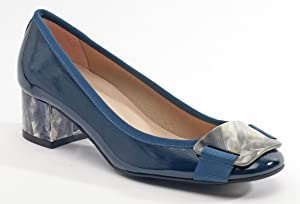 French Sole Women's Royal Teal Pump