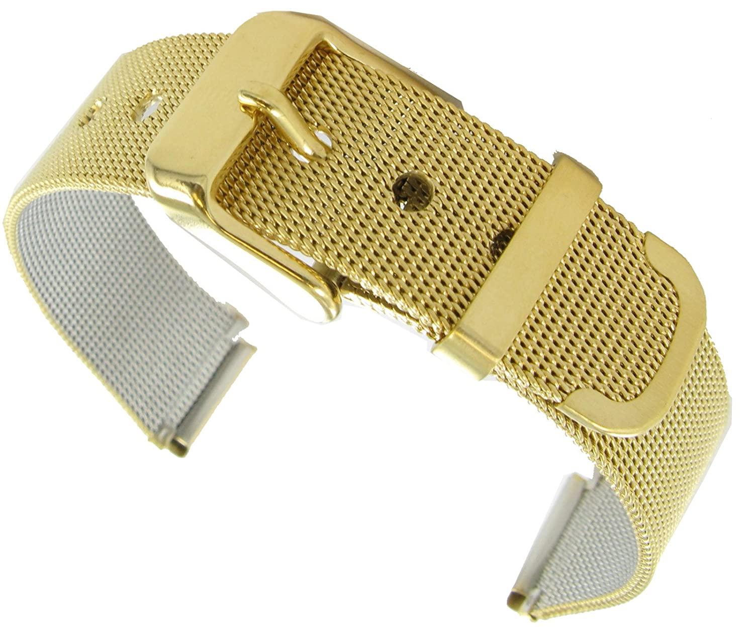 Gold Tone Watches Watch Band Gold Tone Mens