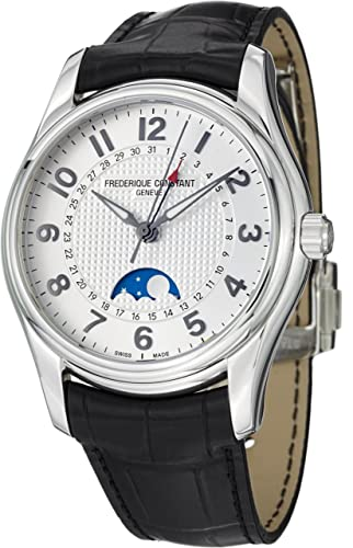 Frederique Constant Men's FC330RM6B6 RunAbout Analog Display Swiss Automatic Black Watch
