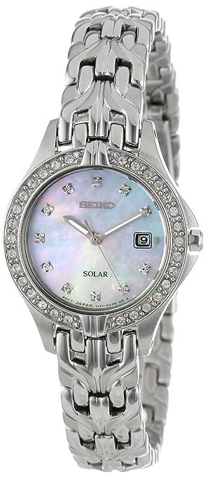 新低!Seiko精工 SUT083女装光动能施华洛世奇水晶镶钻腕表 特价6.42 - 第1张  | 淘她喜欢
