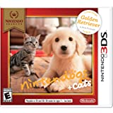Nintendo Selects: Nintendogs + Cats: Golden Retriever and New Friends - Nintendo 3DS (Color: gold)