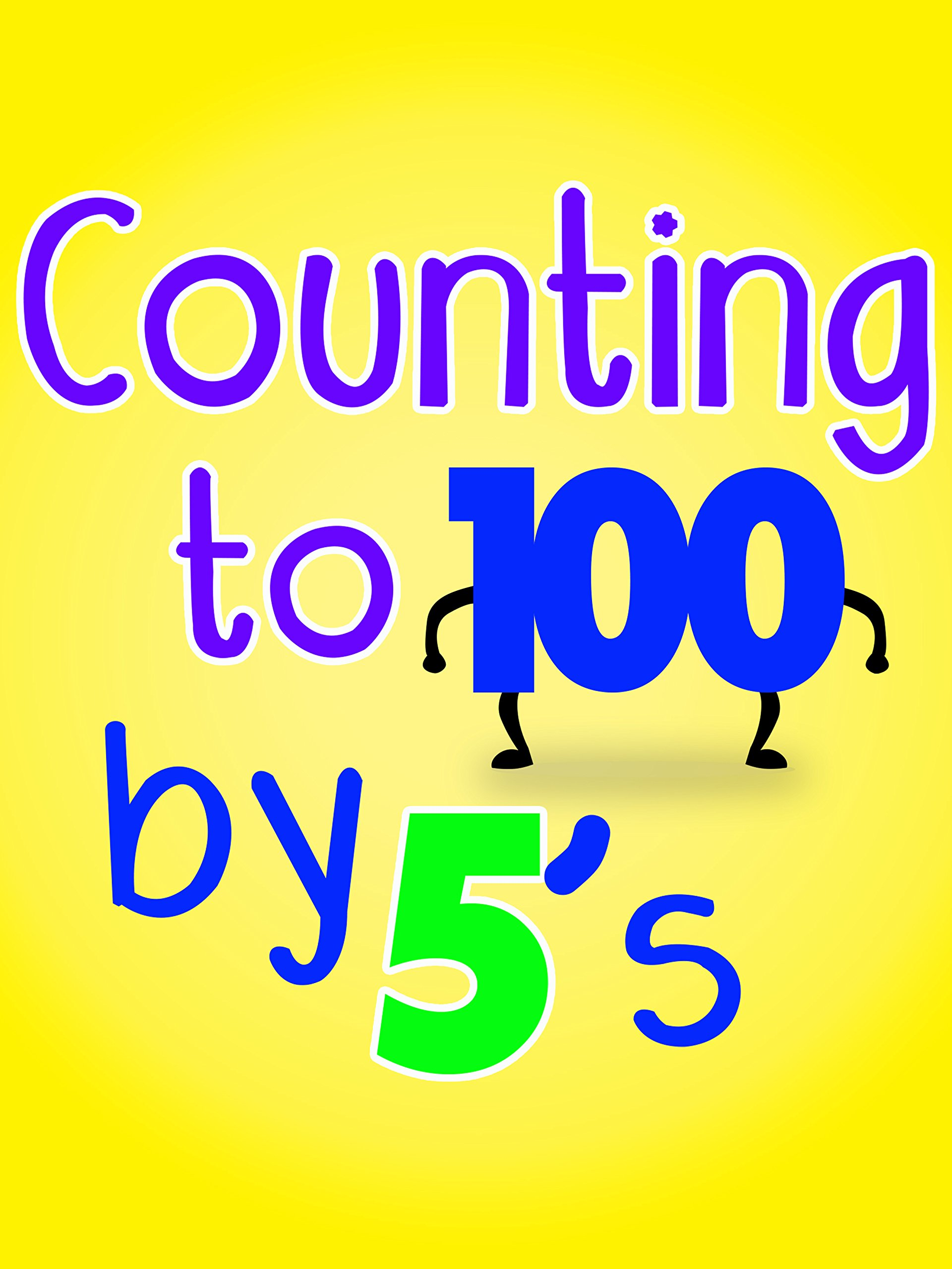 Counting to 100 by 5's on Amazon Prime Video UK