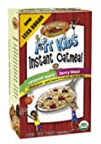 Country Choice Organic Fit Kids Instant Oatmeal (Berry Blast, Caramel Apple) Variety Pack, 8 Count Servings (Pack of 6)
