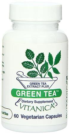 Отзывы Vitanica Green Tea Capsules, 60-Count