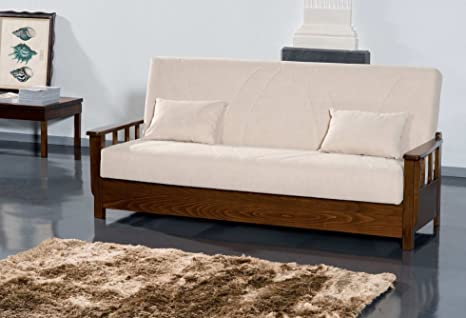 "Sofa bed ""Juan"" with container and with choice of coating removable"