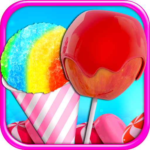 Candy Apples & Snow Cones - Carnival Food Maker (Making Food Games Free compare prices)
