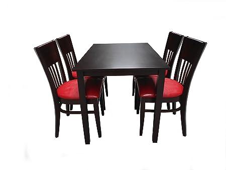 5er Set Fabio mit Tisch Maria 120 cm x 75 cm