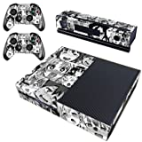 Vanknight Original Xbox One Vinyl Decal Skin Stickers Cover for Console Kinect 2 Controllers Anime Funny Girls