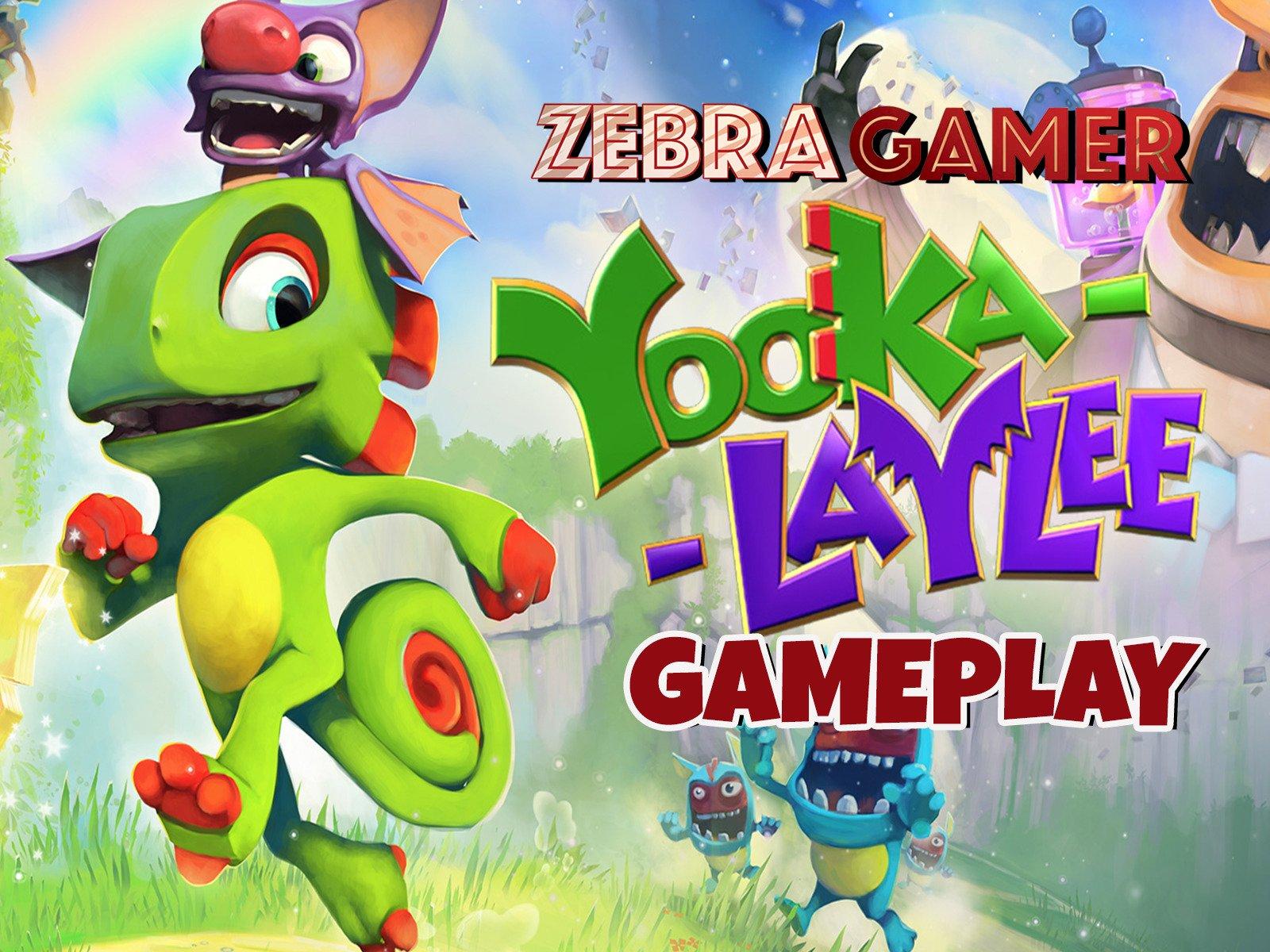 Yooka Laylee Gameplay - Season 1