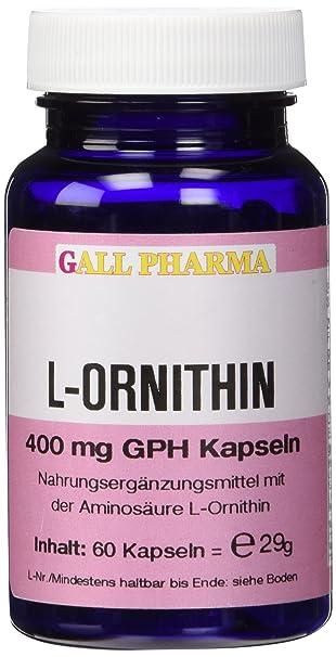 Gall Pharma L-Ornithin 400 mg GPH Kapseln, 1er Pack (1 x 29 g)