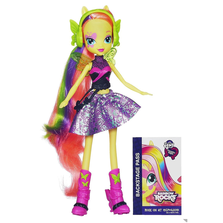 Fluttershy Rainbow Rocks Doll