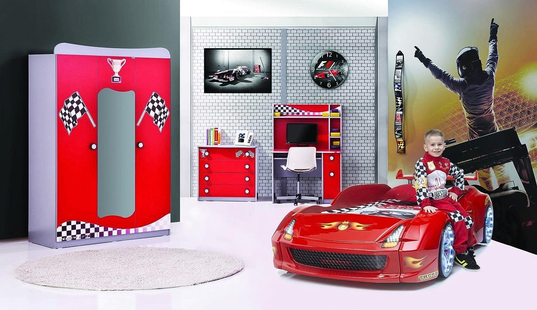Autobettzimmer Set Turbo 4-teilig Fivex Rot kaufen