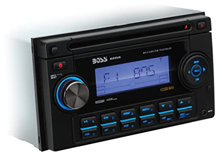 BOSS Audio 822UA In Dash Double Din Detachable CD USB SD MP3 Player