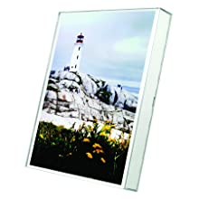 Nu-Dell Un-Frame Box Photo Frame, Plastic, 8.5 x 11 Inches, Clear (30085)