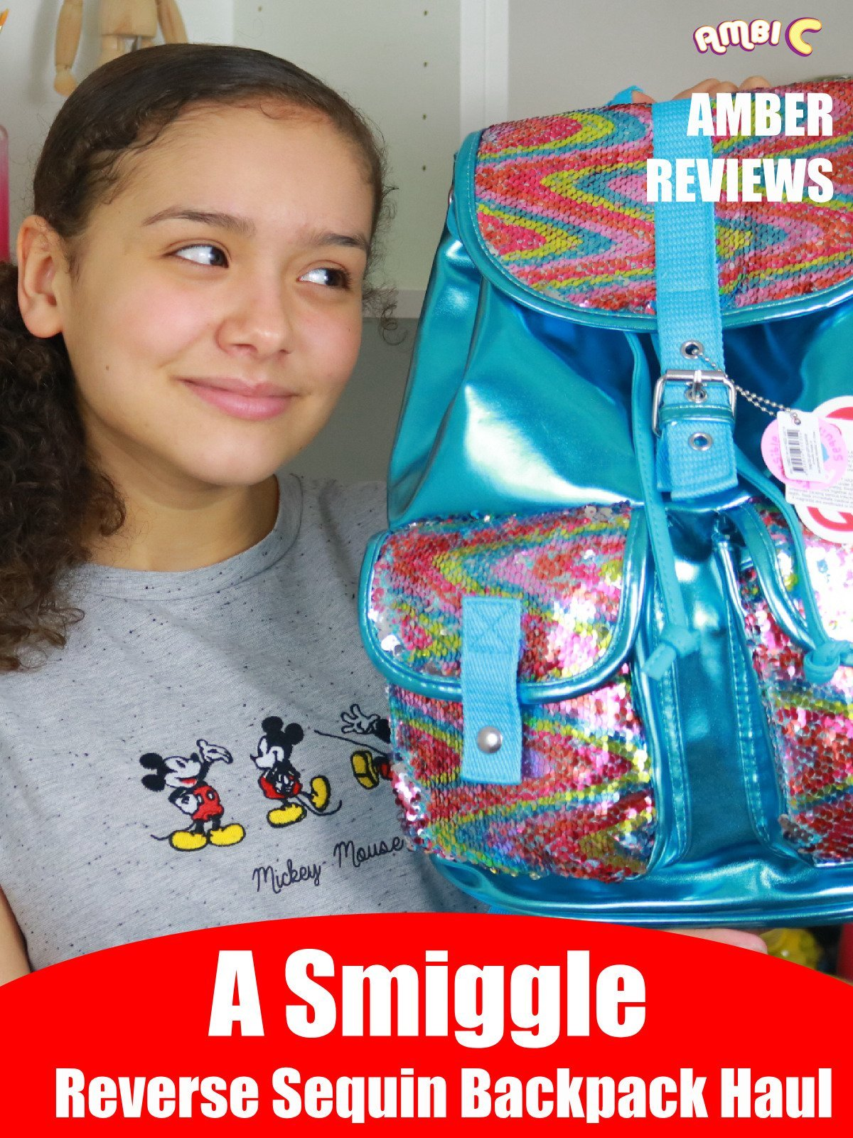 Amber Reviews a Smiggle Reverse Sequin Backpack Haul