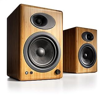 Audioengine A5+N Powered Bookshelf Speakers