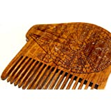 Millennium Falcon Beard Comb Star Wars Blueprint - Beard Gains