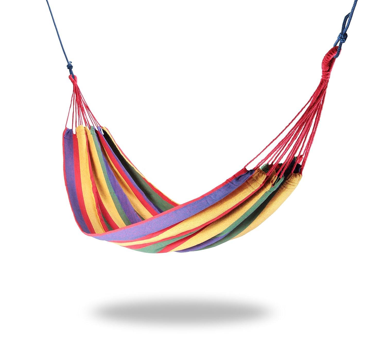 Hängematte 200 x 80cm, Regenbogenfarben online kaufen