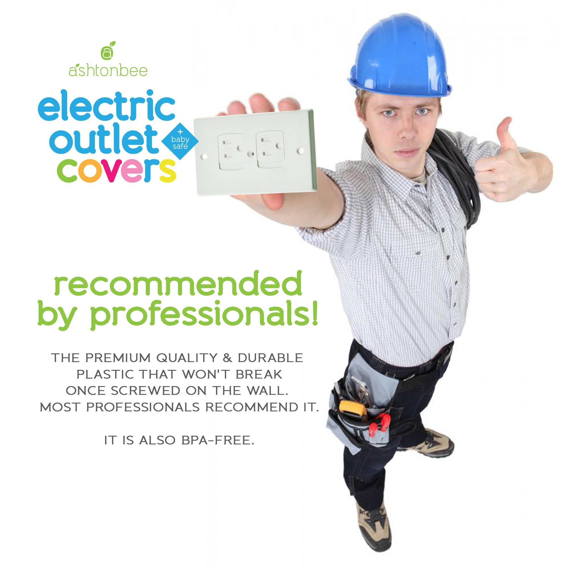 child safety electrical outlet covers for baby proofing