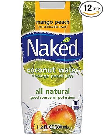 Amazon - 12x Naked Juice Coconut Water, Peach Mango, 11.2oz - $11.04