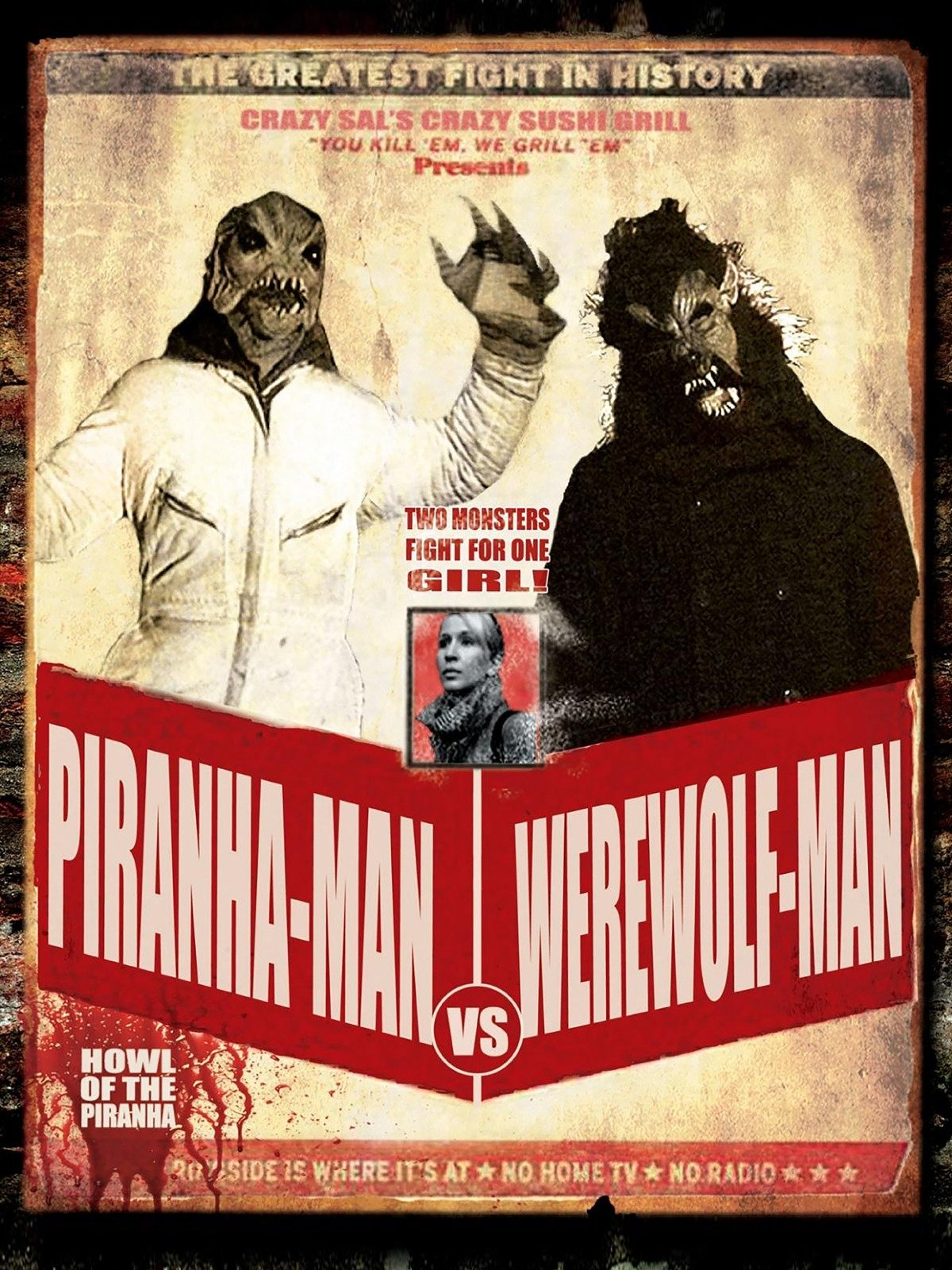 Piranha-Man Versus WereWolf-Man: Howl of the Piranha on Amazon Prime Video UK
