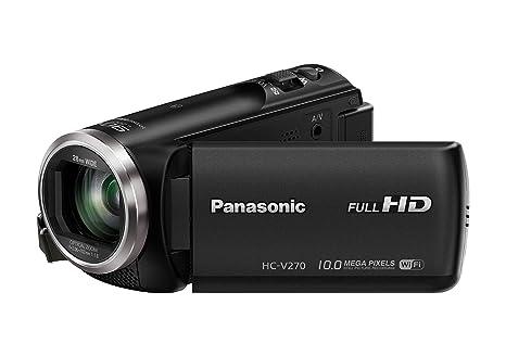 Panasonic HC-V270EG-K Camescopes Classique 1080 pixels Zoom Optique 50 x 2.51 Mpix