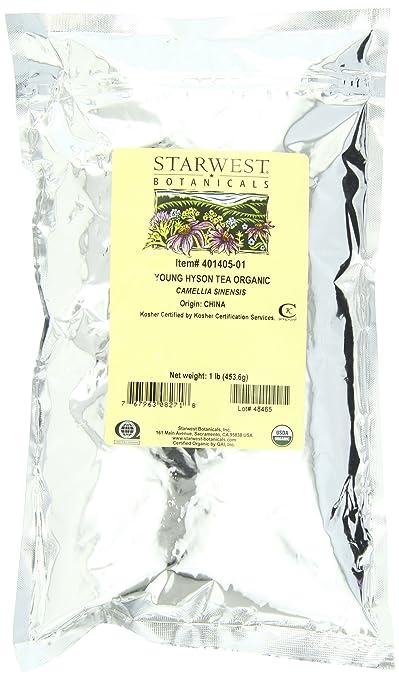 Отзывы Starwest Botanicals Tea Young Hyson Organic
