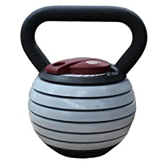 CFF 40 lb Adjustable Russian Kettlebell