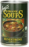 Amy's Organic Minestrone Soup, 14.1-Ounce Cans (Pack of 12)