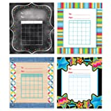 Creative Teaching Press Student Incentive Charts Variety Pack - 5 1/4 x 6 - Pack of 144