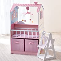 Teamson Wooden Double Sided Kids Kitchen Play Set