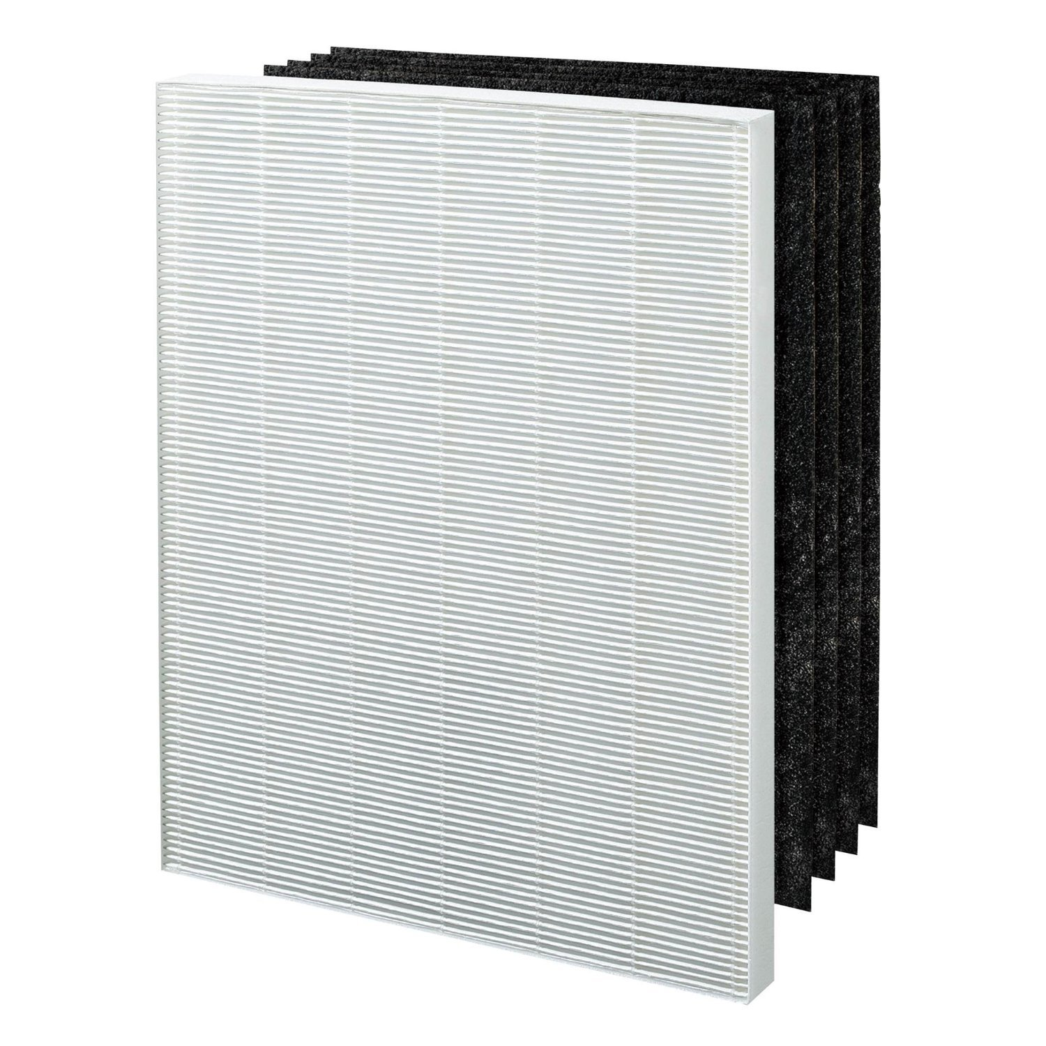 1 Fellowes HEPA Air Purifier Filter 4 Carbon Filters fits Fellowes AP-300PH Air Purifier - Compare #HF-300 - Designed & Engineered By Vacuum Savings