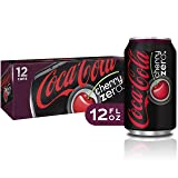 Coca-Cola Zero Cherry Diet Soda Soft Drink, 12 fl oz, 12 Pack (Tamaño: 12  Ounces)