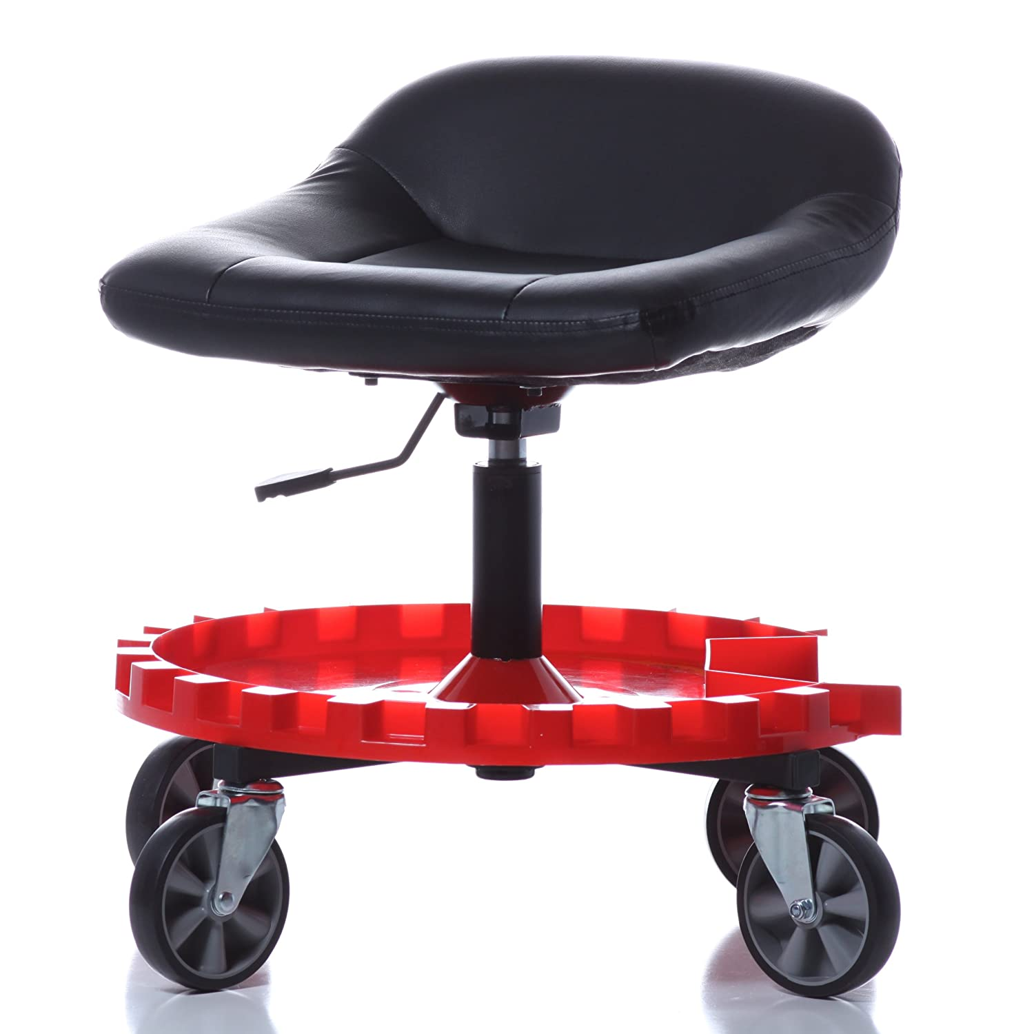Mechanics Creeper Seat Rolling Work Stool Heavy Duty Chair
