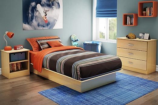 Copley Twin Platform 3 Piece Bedroom Set