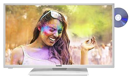 Telefunken XF32A200D-W 81 cm (32 Zoll) Fernseher (Full HD, Triple Tuner, Smart TV, DVD-Player) weiß