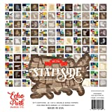 Echo Park Paper Company Stateside Collection Kit (Tamaño: 12-x-12-Inch)