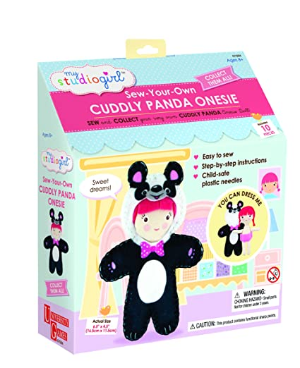 My Studio Girl Onesie Doll Bouncy Bunny Craft Kit