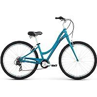 Raleigh Bikes Women's Circa 1 Step Thru Comfort Bike (Blue)