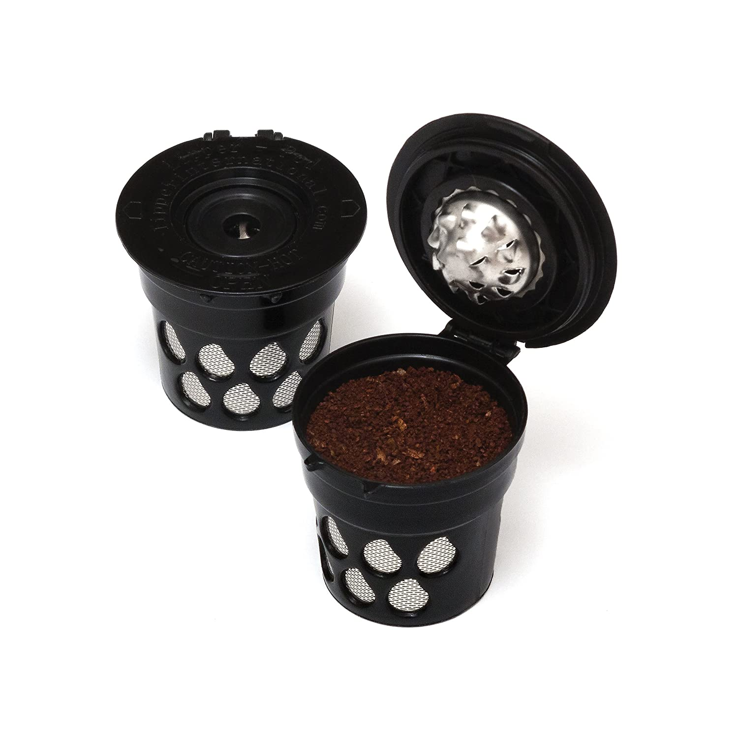 Reusable Coffee K-Cup Filters (Set of 2) - Use your Own Coffee in all Keurig 2.0