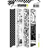 Carabelle Studio Washi Tape Cling Stamp A6