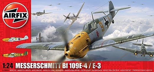 Airfix - A12002A - Maquette - Messerschmitt BF109E - Echelle 1:24