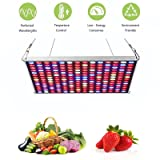 LED Grow Light - 45W Grow Lights for Indoor Plants Veg and Flower Plant Lights Full Spectrum with 3000K 6500K for Garden Greenhouse Hydroponics Plants from Seeding to Harvest by YGROW (Color: Silver, Tamaño: 45W)