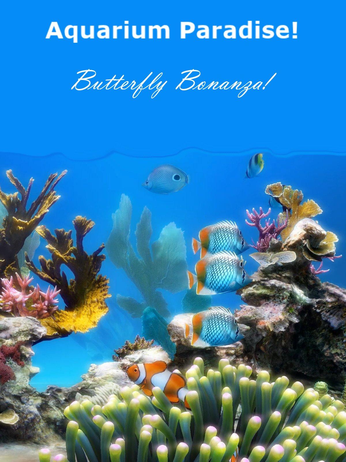 Aquarium Paradise: Butterfly Bonanza